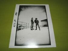 "The KLF Original Press Promo Picture ""Exclusive Photo"" Bill Drummond Jimmy Cauty"