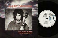 """GARY MOORE Over The Hills And Far Away  7"""" Ps, B/W Crying In The Shadows, Ten 13"""