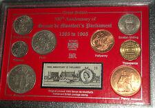 Simon de Montfort British English Parliament History Coin & Stamp Gift Set 1965