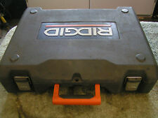 RIDGID TOOL LOCKING CARRYING CASE - CLEAN - FOR TOOL MODEL#R84015