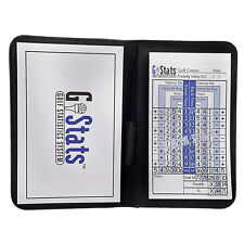 G Stats Golf Score and Statistic Tracking System - Stat Scorecard Book / Booklet