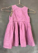 Dries van Noten Vintage Baby todler dress quilted padded dark purple vest