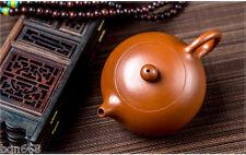 China totally handmade yixing zisha Purple clay qingshuini xishi teapot 160cc Z1