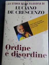 LA STORIA DELLA FILOSOFIA di Luciano De Crescenzo-Ordine e disordine-2005-S12
