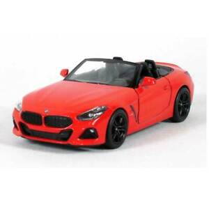 """5"""" Die-cast: BMW Z4 Convertible (Red) 1/34 Scale"""