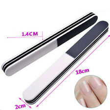 Double Side Nail Art Polish Strip Sanding Nail File Buffer Grits Nail  Tool PFBN