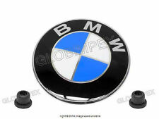 BMW E31 840Ci 850i,Ci,CSi Front Hood Emblem GENUINE NEW + 1 year Warranty