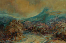Cynthia Spiers - 20th Century Oil, Abstract Landscape