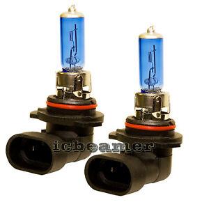 x2 9006 HB4 100W Xenon Halogen Light Bulbs Super White Low Beam Fog Light R65