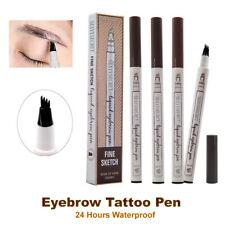 AU Hot Eyebrow Tattoo Pen Waterproof Fork Tip Patented Microblading Ink Sketch