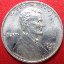 "*UNCIRCULATED Vintage 1943-D ""STEEL"" LINCOLN WHEAT WAR CENT, Denver Mint #11"
