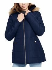 CELEBRITY PINK Womens Faux Fur Coat