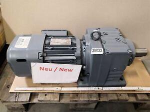 Sew 1,1 Kw 18 Min Gear Motor R77 DRE90M4BE2HF / Tf/ EI76 Gearbox
