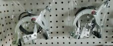 """New White Alloy Hand Brakes 20""""Bmx Bicycles,Front& Rear,Mx, Comes Complete"""