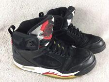 Nike Air Jordan Sixty+ 60+ 364806-061High Hi Top Black Silver Red UK8 Eu42.5