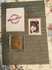 94 Highland Mint Bronze Michael Jordan Baseball Card