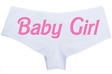 Baby Girl Panties - Cute Sexy Naughty Ladies Underwear - Cotton Knickers