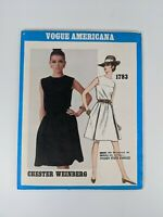Vintage Vogue # 1783 Dress Pattern - Chester Weinberg