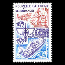 New Caledonia 1979 - Chamber of Commerce and Industry Ships - Sc C151 Mnh