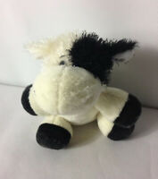 GANZ WEBKINZ LIL' KINZ LION COW & RABBIT BEANIE BELLY SOFT TOY VGC Plush