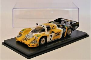 1/43 Porsche 956  # 7  Pescarolo / Ludwig  Winner 1984 Le Mans 24 Hour  Spark