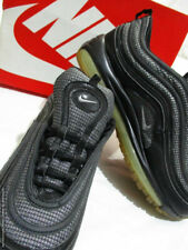 NIKE Air Max 97 Black Silver Bullet Sneakers - UK 10 EUR 45 RRP £150 MINT IN BOX