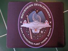 STAR TREK Starfleet Fleet yard ! Spock Kirk Anti slip optical COMPUTER MOUSE PAD