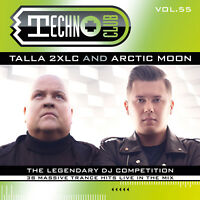 CD Techno Club Vol.55 by Talla 2XLC & Arctic Moon 2CDs