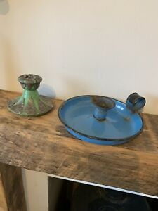 Antique / Vintage Candlestick Holders. Salvage Candlestick Holders