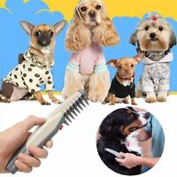 Dog Cat Electric Grooming Comb No Knot Detangler Pet Scissor Trimmer Safe