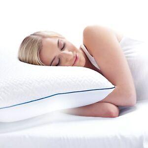 "Serta Forever Cool Pillow, 18"" x 26"" Gel memory foam ,•Foam made in the USA*"
