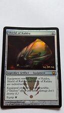 1 x FOGLIO PROMO SHIELD DI KALDRA - Acciaio Scuro MTG - NM - Magic the Gathering