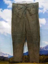Weich und leicht evtl. Ziegenleder lang garu Bundfalte Trachten Lederhose Gr.50