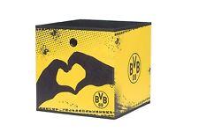 "Faltbox Aufbewahrungsbox 3er-Set ""BVB 09"" Nr. 2 BVB-Herz in 32 x 32 x 32 cm"