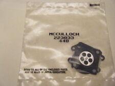 NEW MCCULLOCH CARB KIT PN 223833 FITS MAC 80-SL, MAC 100-HD