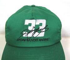 vintage Skoal Bandit Racing HARRY GANT 33 snapback trucker hat USA kelly green