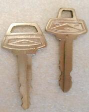 Lot 2 Vintage Old Original 65 Galaxie Product Ford Motor Company Logo H B Keys