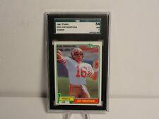 1981 Topps Football #216 Joe Montana 49ers RC Rookie HOF SGC 7 NM CENTERED