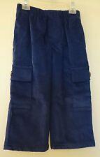 Brand New Kelly's Kids Blue Depths Corduroy Cargo Pants ~ Size 5 yr.