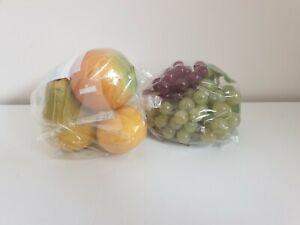REALISTIC shop display PLASTIC FRUIT artificial life size PROFESSIONAL bundle