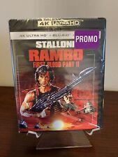 Rambo: First Blood Part II 2 (4K Ultra HD/Blu-ray/Digital) Factory Sealed