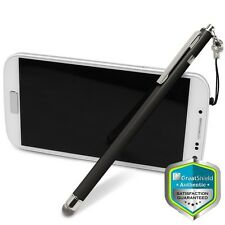 Fibermesh 3 Clip-On Lanyard Capacitive Stylus Pen for iPad Pro Mini Galaxy Tab