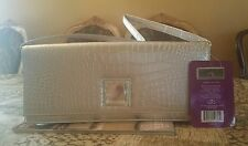 Paris Hilton Silver Woman Clutch -Purse Crossbody Evening Handbag . NWT