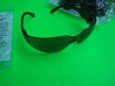 SHADED SAFETY GLASSES WORK GLASSES NICE FIT SMOKE TINT SEALED FAST SHIP FROM L.A
