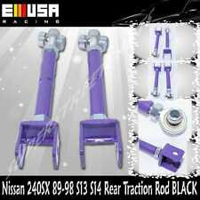 Rear Traction Rod Purple for Nissan 240SX 89 90 91 92 93 94 S13 95 96 97 98 S14
