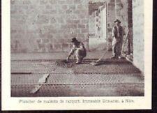 1929  --  NICE   PLANCHER DE MAISON DE RAPPORT  IMMEUBL DONADEI  W161