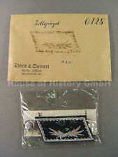 T&S, Zoll: Paar Kragenspiegel für einen Oberzollsekretär, Handgestickt, 56917