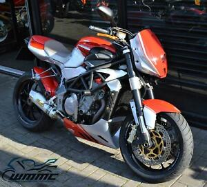 2008 MV AGUSTA F4 1078RR BRUTALE * PART EXCHANGE TO CLEAR * 12,000 MILES *