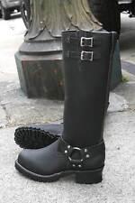 "Wesco Harness 16"" Black Boots"