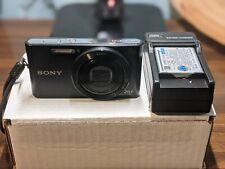 Sony Cyber-shot DSC-W830 20.1MP Digital Camera 8x Zoom - Black